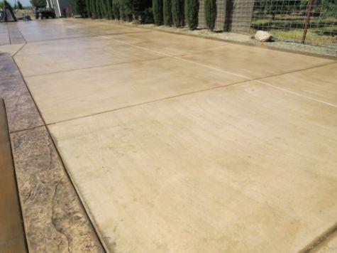 this picture shows concrete driveway cerritos california