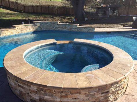 this image shows pool deck cerritos california