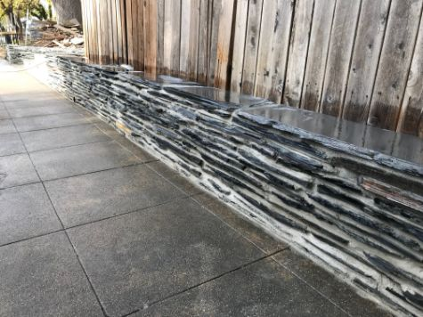 this image shows stone masonry cerritos