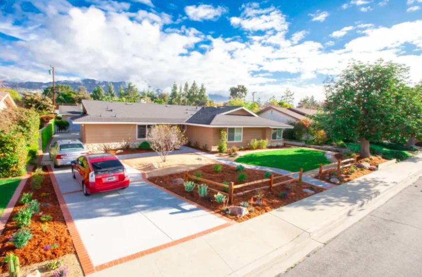 this image shows driveway installation in Cerritos, California
