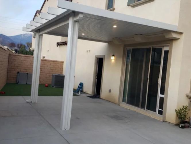 this image shows patio in Cerritos, California